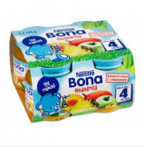 Bona ананас, манго и абрикосы, с 4 мес. 4шт. 125г / Hedelmiä